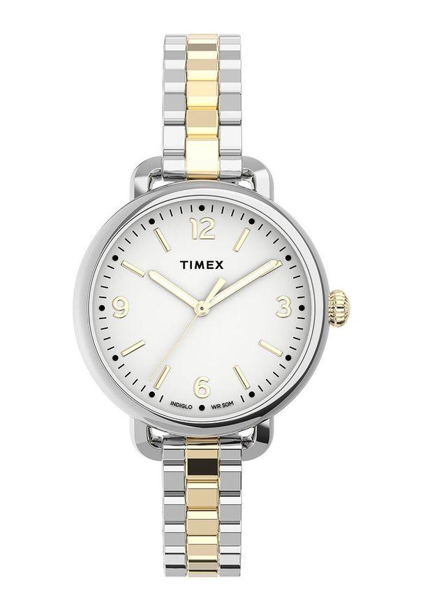 Biały zegarek Timex