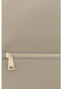 Furla - Plecak skórzany Libera. Kolor: szary. Materiał: skóra