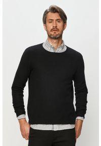 Czarny sweter Clean Cut Copenhagen na co dzień, z aplikacjami, casualowy