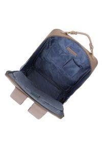 Beżowa torba na laptopa Wittchen elegancka, gładkie