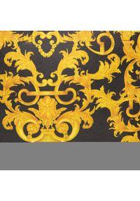Versace Jeans Couture - Torebka VERSACE JEANS COUTURE - E1VWABZ1 71588 M27. Kolor: czarny, żółty, wielokolorowy. Materiał: skórzane. Styl: klasyczny. Rodzaj torebki: na ramię