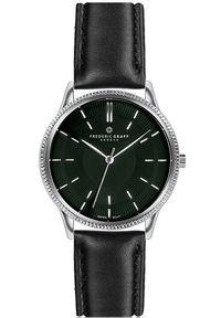 Czarny zegarek Frederic Graff elegancki