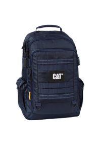 Niebieski plecak CATerpillar