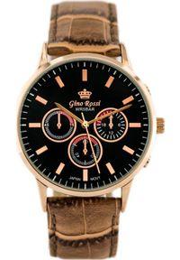 Brązowy zegarek Gino Rossi