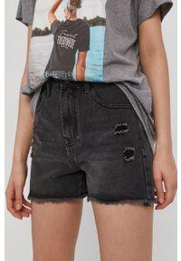 Haily's - Szorty jeansowe. Okazja: na co dzień. Kolor: szary. Materiał: jeans. Styl: casual