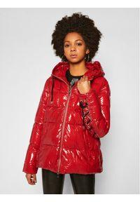 Czerwona kurtka zimowa Pinko