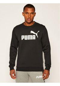 Puma Bluza Ess Logo Crew Sweat Fl Big Logo 851747 Czarny Regular Fit. Kolor: czarny