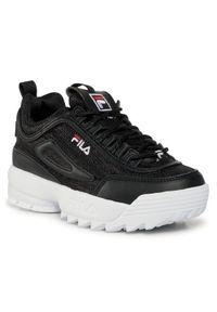 Fila Sneakersy Disruptor A Kids 1011082.15C Czarny. Kolor: czarny