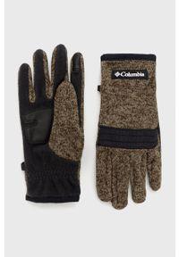 columbia - Columbia - Rękawiczki. Kolor: zielony