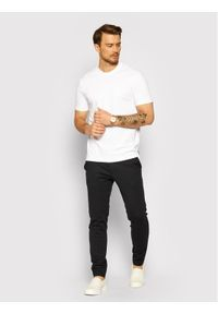 Only & Sons - ONLY & SONS Spodnie materiałowe Mark 22013727 Czarny Slim Fit. Kolor: czarny. Materiał: materiał #2