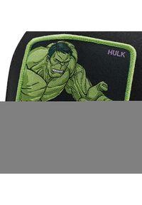 CapsLab - Czapka z daszkiem CAPSLAB - Marvel Hulk Trucker CL/MAR/1/HLK5 Czarny. Kolor: czarny. Materiał: materiał, bawełna, poliester. Wzór: motyw z bajki