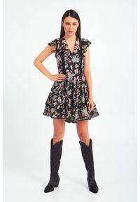 Sukienka TwinSet z aplikacjami, mini
