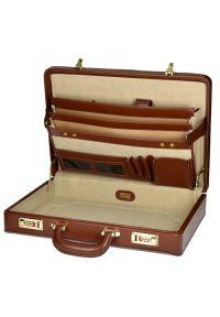 Neseser na laptopa MCKLEIN Daley 80434 Brązowy. Kolor: brązowy. Materiał: skóra. Wzór: aplikacja. Styl: klasyczny, retro #4