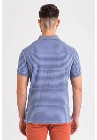 Koszulka polo JOOP! Jeans z nadrukiem, polo, sportowa