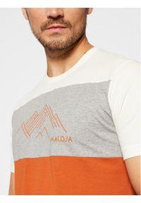 Maloja T-Shirt KorphuM 30504-1-8416 Kolorowy Relaxed Fit. Wzór: kolorowy