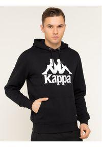 Kappa Bluza Taino 705322 Czarny Regular Fit. Kolor: czarny