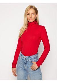 Czerwony golf Calvin Klein Jeans z golfem