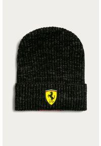 Czarna czapka Puma z aplikacjami