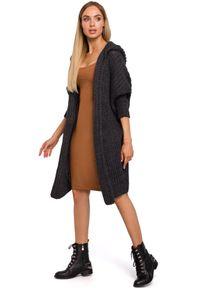 Sweter MOE elegancki, z długim rękawem