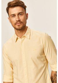 Żółta koszula Levi's® z klasycznym kołnierzykiem, biznesowa, z długim rękawem, w kolorowe wzory