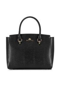 Czarna torebka klasyczna Wittchen skórzana, elegancka
