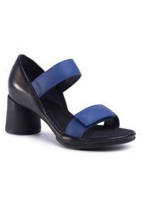 Czarne sandały Camper na co dzień, casualowe