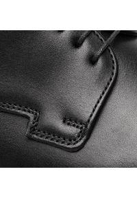 Lloyd - Półbuty LLOYD - Madoc 19-157-10 Schwarz. Kolor: czarny. Materiał: skóra. Szerokość cholewki: normalna. Styl: wizytowy, klasyczny