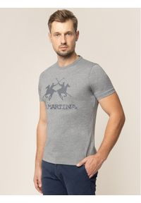 Szary t-shirt La Martina