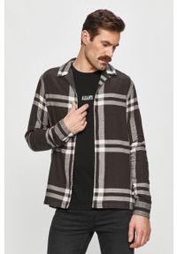 Wielokolorowa koszula AllSaints z klasycznym kołnierzykiem, klasyczna, długa, na co dzień