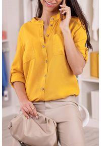 Żółta bluzka IVET klasyczna