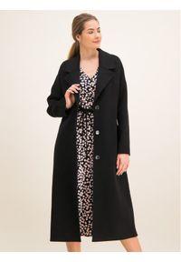 Czarny płaszcz przejściowy Laurèl