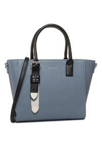 Niebieska torebka klasyczna Jenny Fairy klasyczna, skórzana