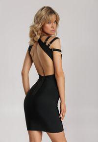 Renee - Czarna Sukienka Dioles. Kolor: czarny