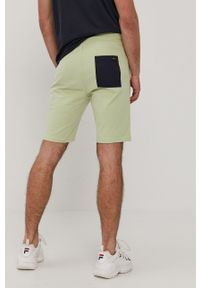 Only & Sons - Szorty. Okazja: na co dzień. Kolor: zielony. Materiał: dzianina. Wzór: gładki. Styl: casual
