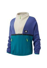Bluza sportowa New Balance z aplikacjami, z kapturem