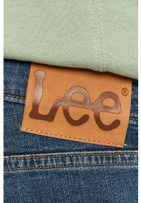 Niebieskie jeansy Lee gładkie