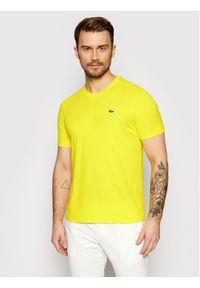 Żółty t-shirt Lacoste