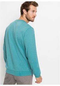 Bluza bonprix zieleń morska. Kolor: zielony. Styl: sportowy