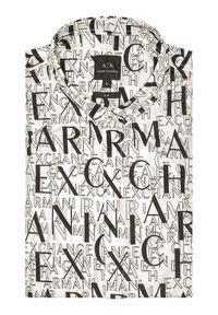 Biała koszula casual Armani Exchange