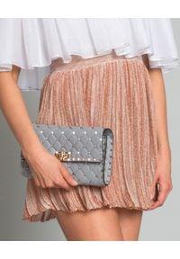 ISABEL MARANT - Spódnica mini. Okazja: na randkę, na co dzień. Kolor: fioletowy, różowy, wielokolorowy. Materiał: tkanina, materiał. Wzór: paski, aplikacja. Styl: wizytowy, elegancki, casual