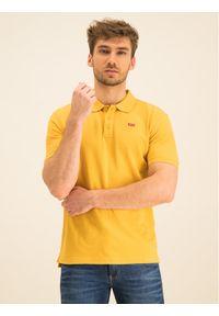 Levi's® Polo Housemark 22401-0109 Żółty Regular Fit. Typ kołnierza: polo. Kolor: żółty
