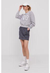 Niebieska spódnica Vero Moda gładkie, na co dzień, casualowa