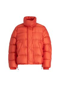 Pomarańczowa kurtka puchowa Sportmax Code