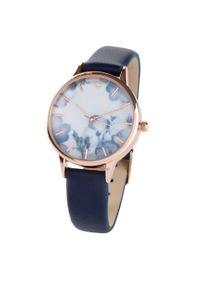 Niebieski zegarek bonprix elegancki