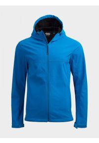 Niebieska kurtka softshell outhorn