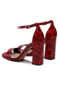 Czerwone sandały Maccioni