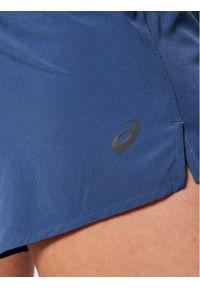 Niebieskie spodenki sportowe Asics
