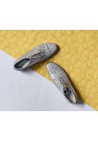Półbuty Zapato casualowe, z cholewką, w kolorowe wzory