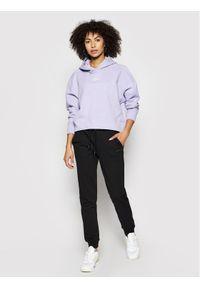 Fioletowa bluza Calvin Klein Jeans