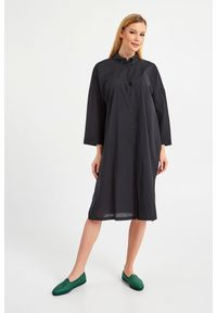 Sukienka Max Mara Beachwear elegancka, koszulowa